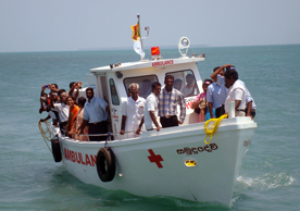 Ambulance Boat(32ft)